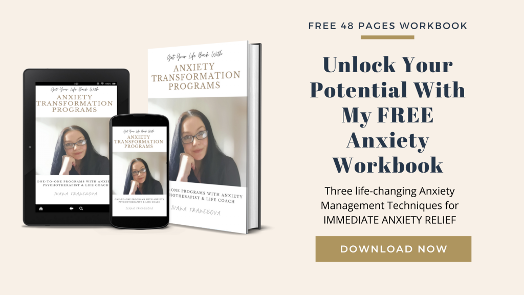 Free 'Anxiety Relief Workbook'