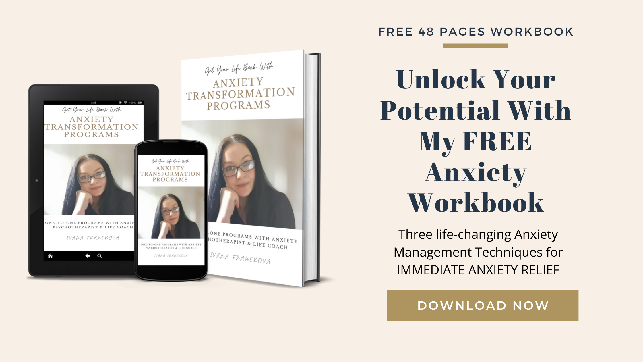 Free Anxiety Relief Workbook